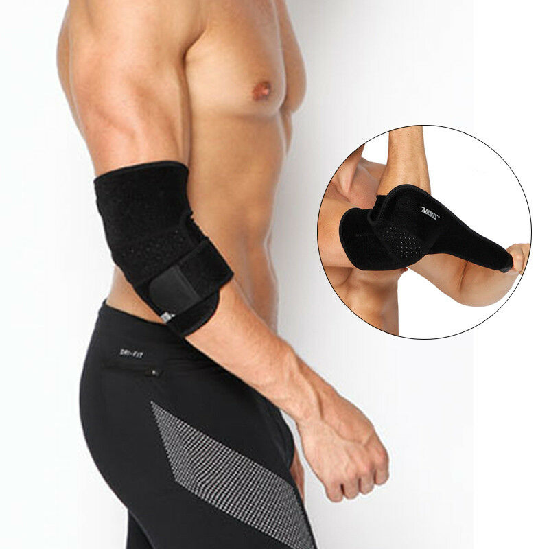 Aolikes Elbow Brace Tennis Basketball Pads Support Sleeve Strap Wrap Pain Relief 1 of 6FREE Shipping ...