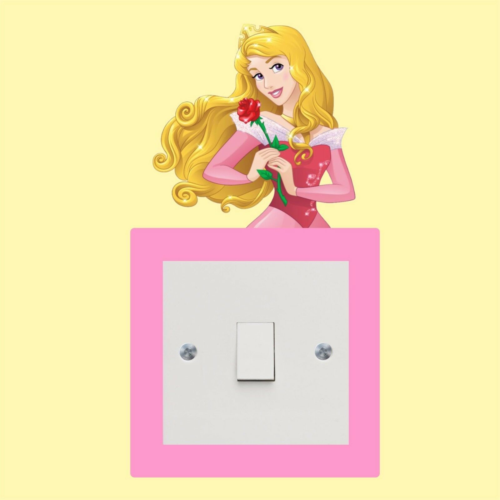 SLEEPING BEAUTY_DISNEY princess_Light Switch_Wall Art _Funny Decal ...