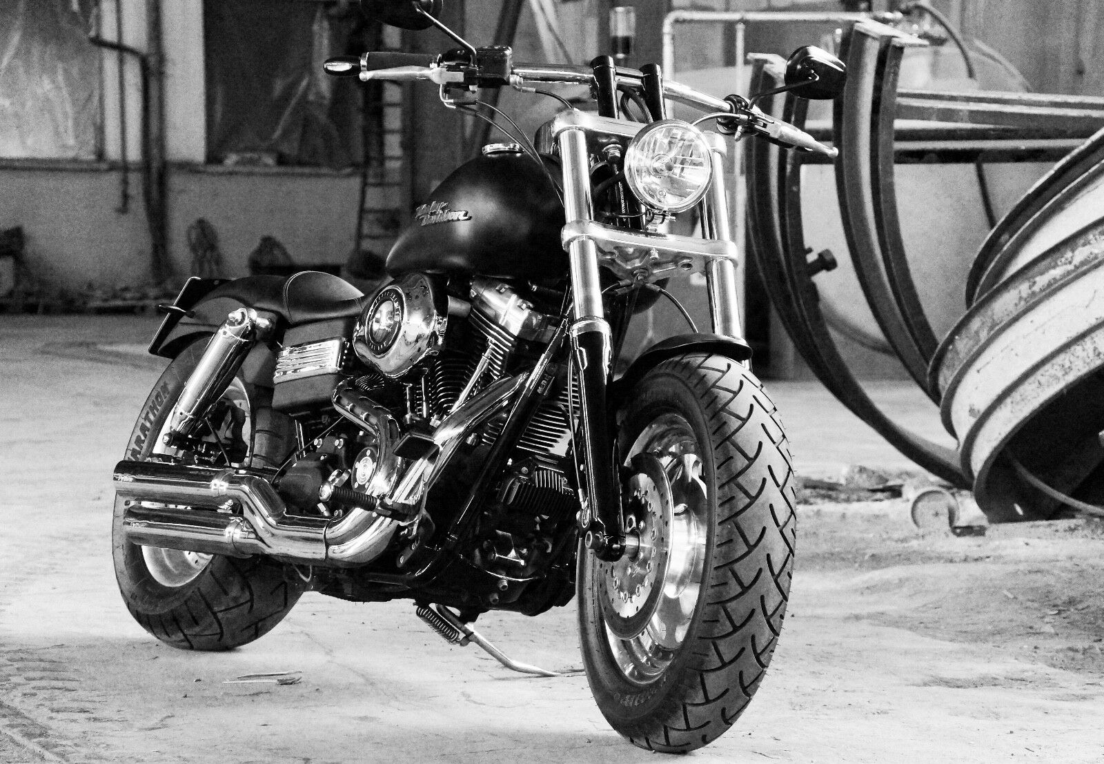 SUPERCOOL HARLEY DAVIDSON Motorcycle Canvas Picture #114 Motorbike ...