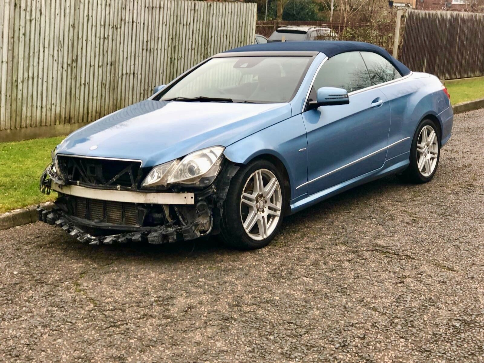 2010 60 Mercedes Benz E220 Amg Cdi Convertible Salvage