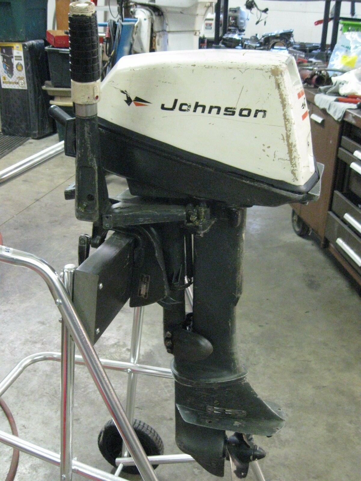 1971 6 hp Johnson Outboard Motor 1 of 6 See More