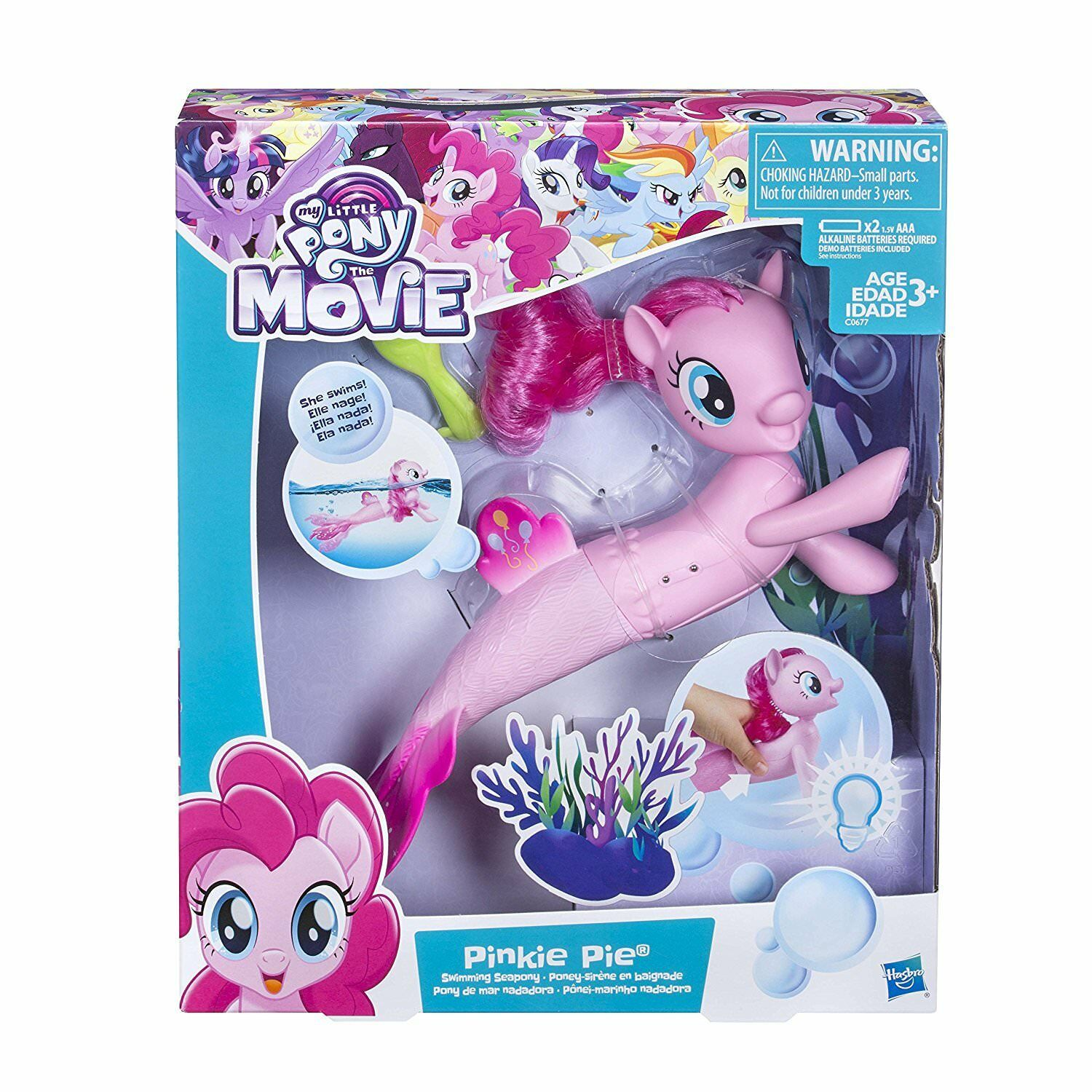 My Little Pony The Movie Pinkie Pie Swimming Seapony Toy Doll Luggage Tag 1 Of 8only 2 Available