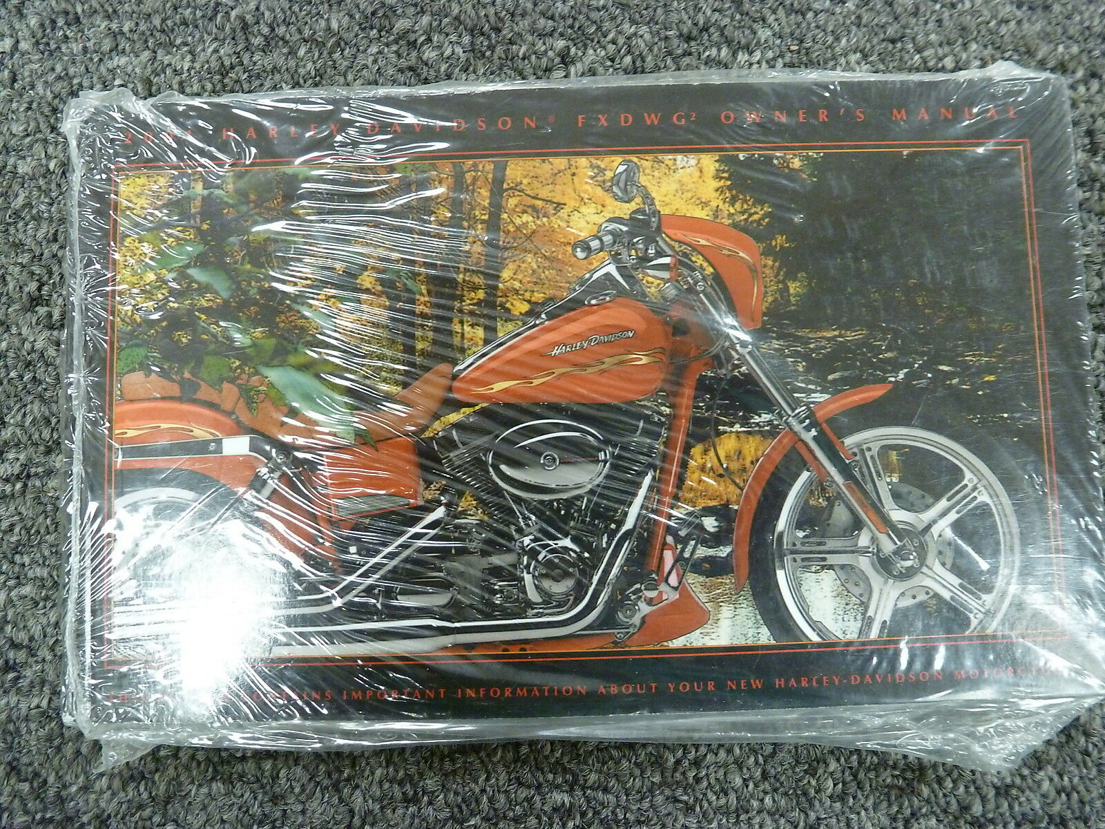 2001 Harley Davidson FXDWG2 Dyna Wide Glide Switchblade Motorcycle Owner  Manual 1 of 1Only 1 available ...