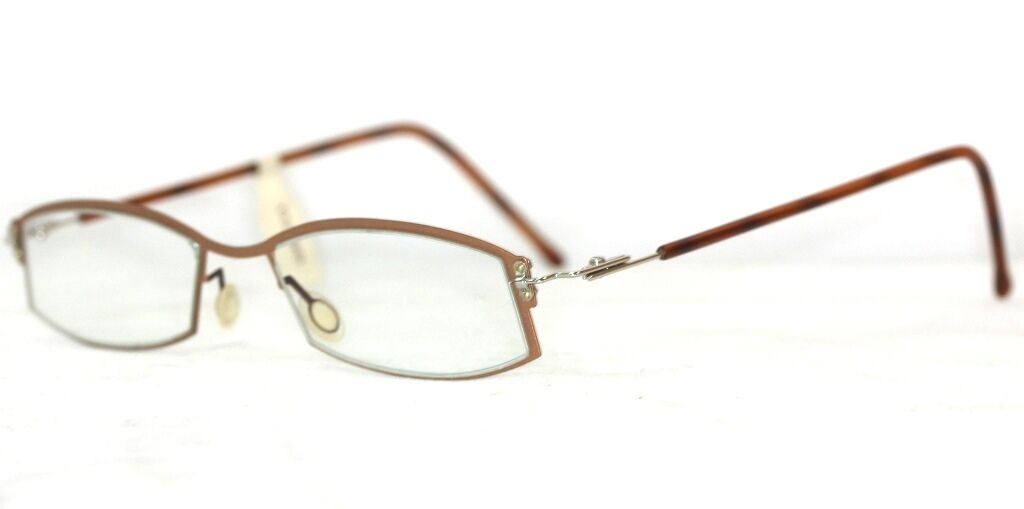 TOM\'S DESIGN Brille Braun metallic glasses lunettes FASSUNG ...