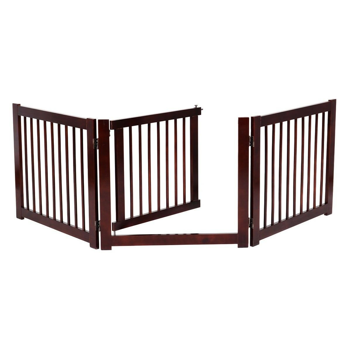 Home Indoor Separate Pet Dog Folden Baby Safety Fence Gate Expandable Doorway Us 1 Of 5only 5 Available See More