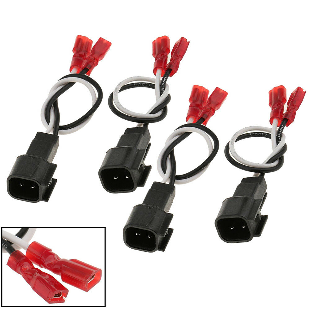 4x Car Speaker Connector Harness Wires Adapter for 72-5600 Ford Linclon  Mercury 1 of 8FREE Shipping See More