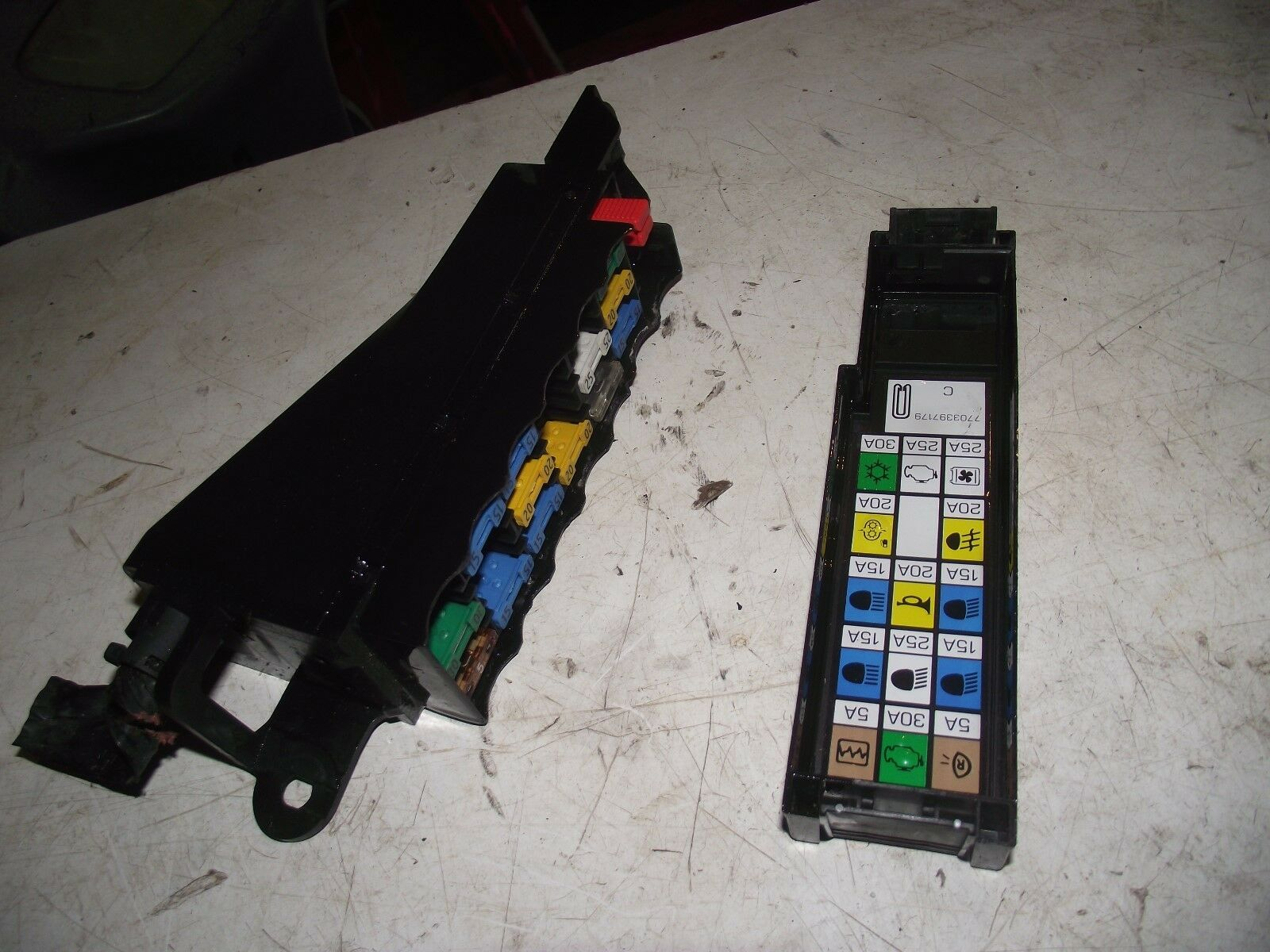 Renault Clio X Reg Fuse Box Trusted Wiring Diagrams For 1 4 P 1996 22 00 Picclick Uk 2005