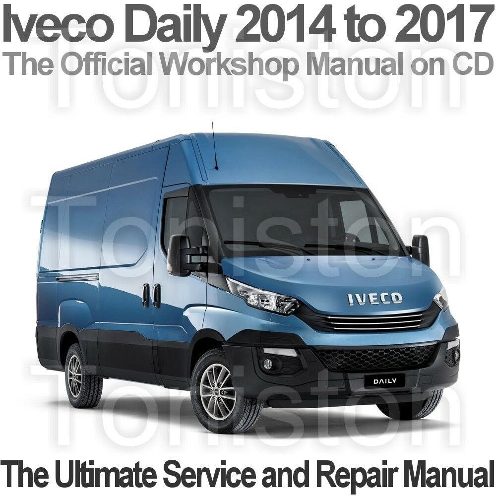 Iveco Daily 2014 to 2017 Workshop, Service and Repair PDF Manual on CD 1 of  1FREE Shipping See More