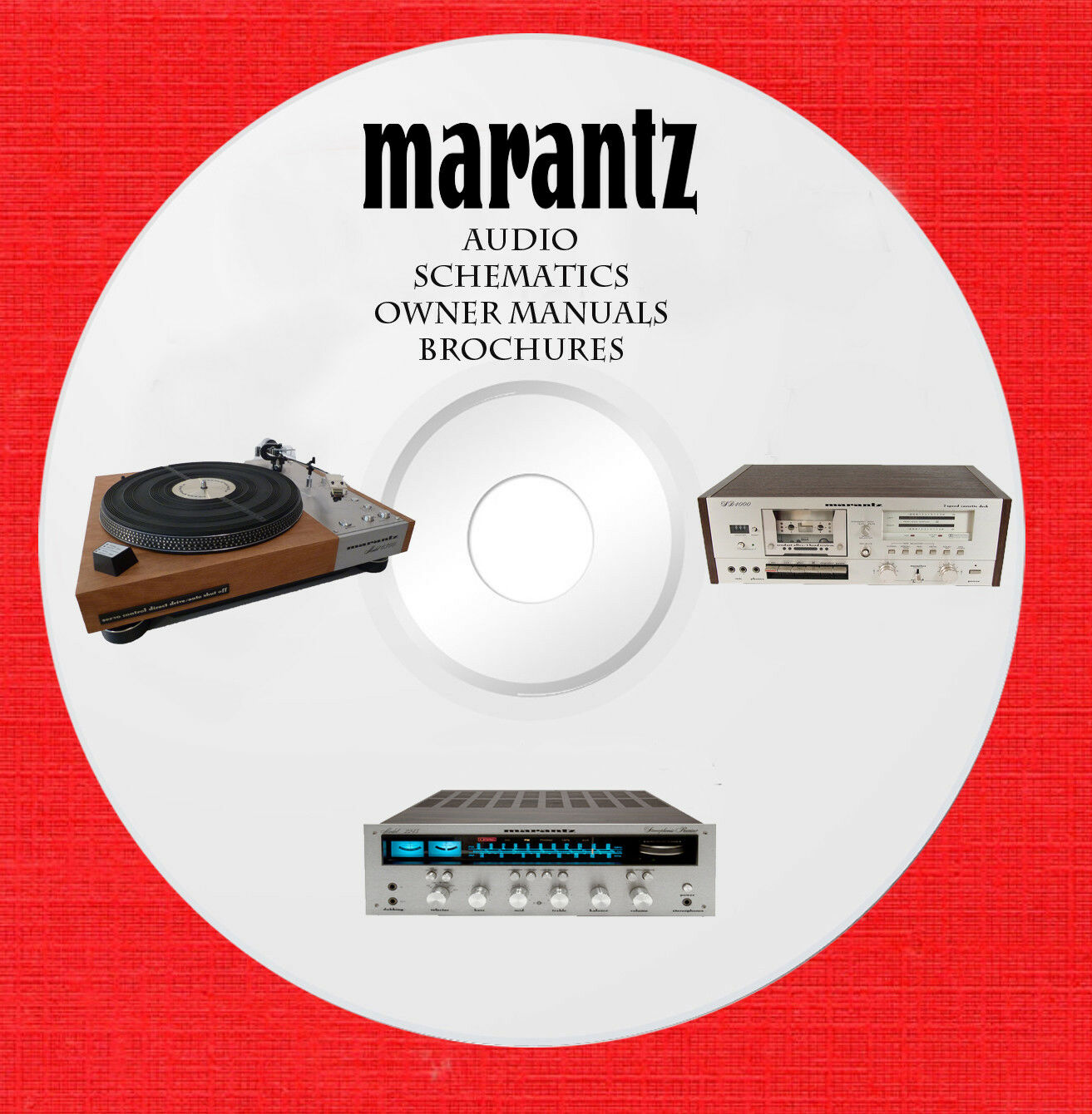 Marantz Audio Repair Service owner manuals on 2 dvd in pdf format 1 of  1Only 2 available See More