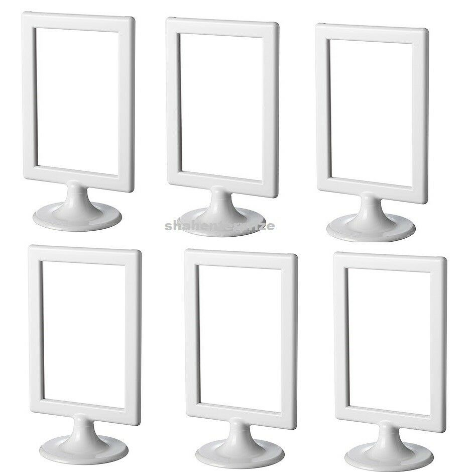 6 X IKEA TOLSBY Double Sided White Picture Frame for 2 Photos Free ...