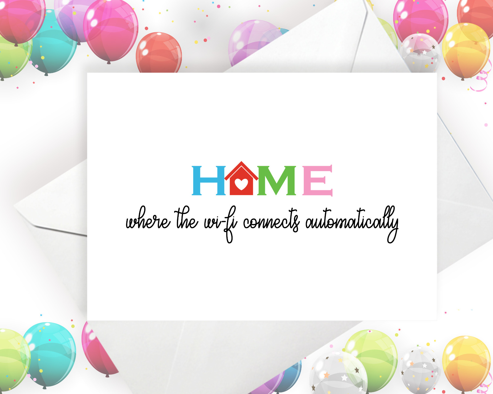 Greeting Card New Home Card Moving House Card First Home Card