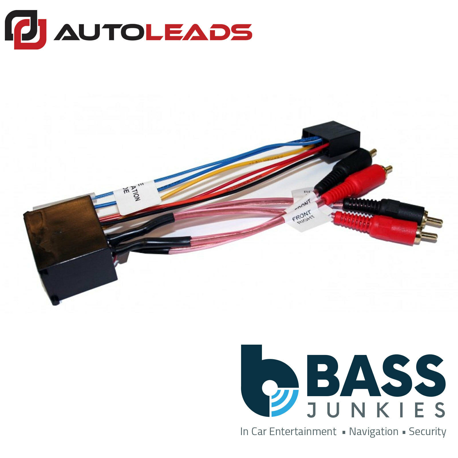 Bmw 3 Series 1998 E46 Car Stereo Amplified Amp Bypass Wiring 328i Harness 1 Of 1free Shipping