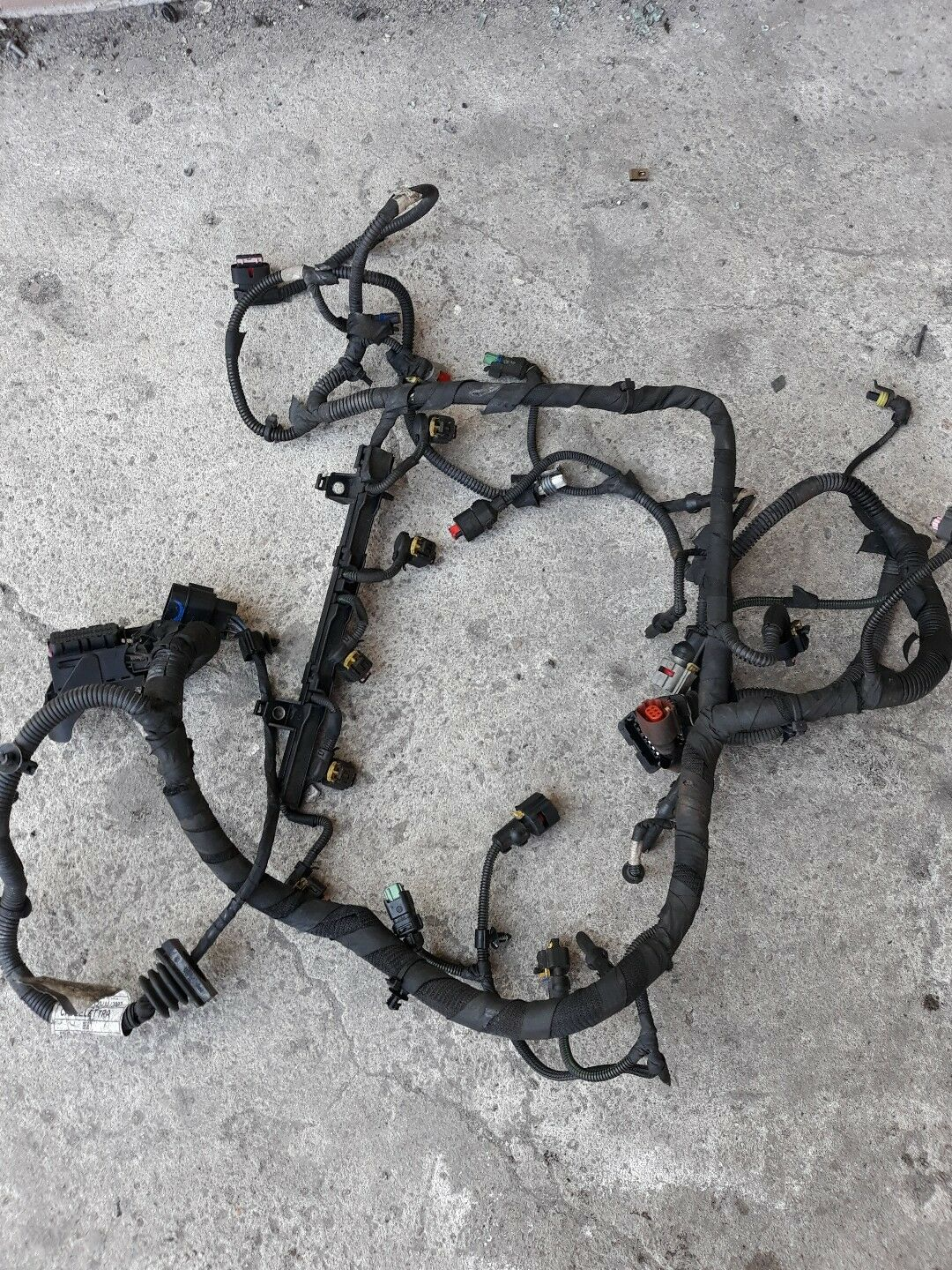Alfa Romeo 159 24l Jtdm Diesel Engine Wiring Loom Harness Rhd Used Spider Dash Parts For Sale 552082930 1 Of 2 See More