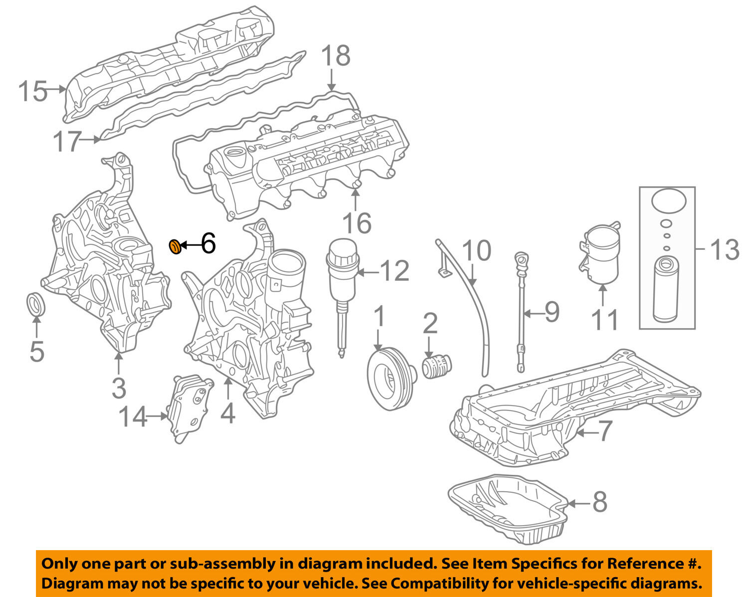 Engine Timing Cover Diagram Electrical Wiring Diagrams Subaru Genuine Oem Mercedes Benz Rear O Ring Seal 112 2