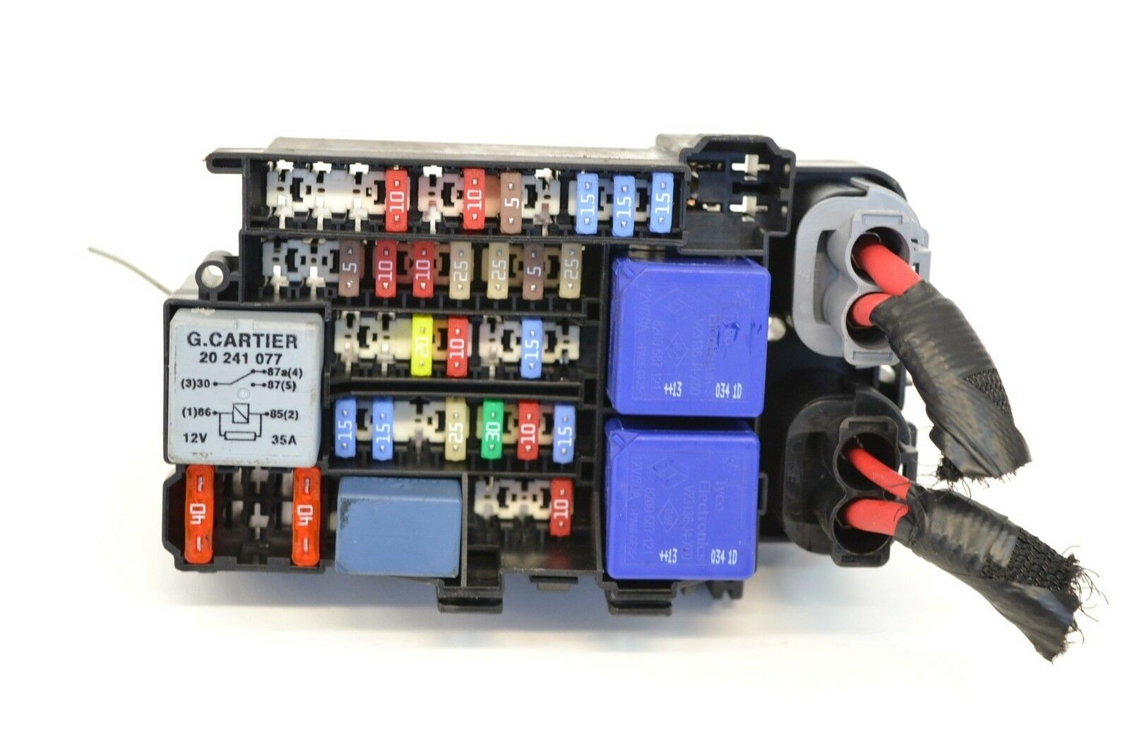 Renault Megane Mk3 2013 15 Dci K9k 636 Lhd Fuse Box 1800 1 Of 4only Available