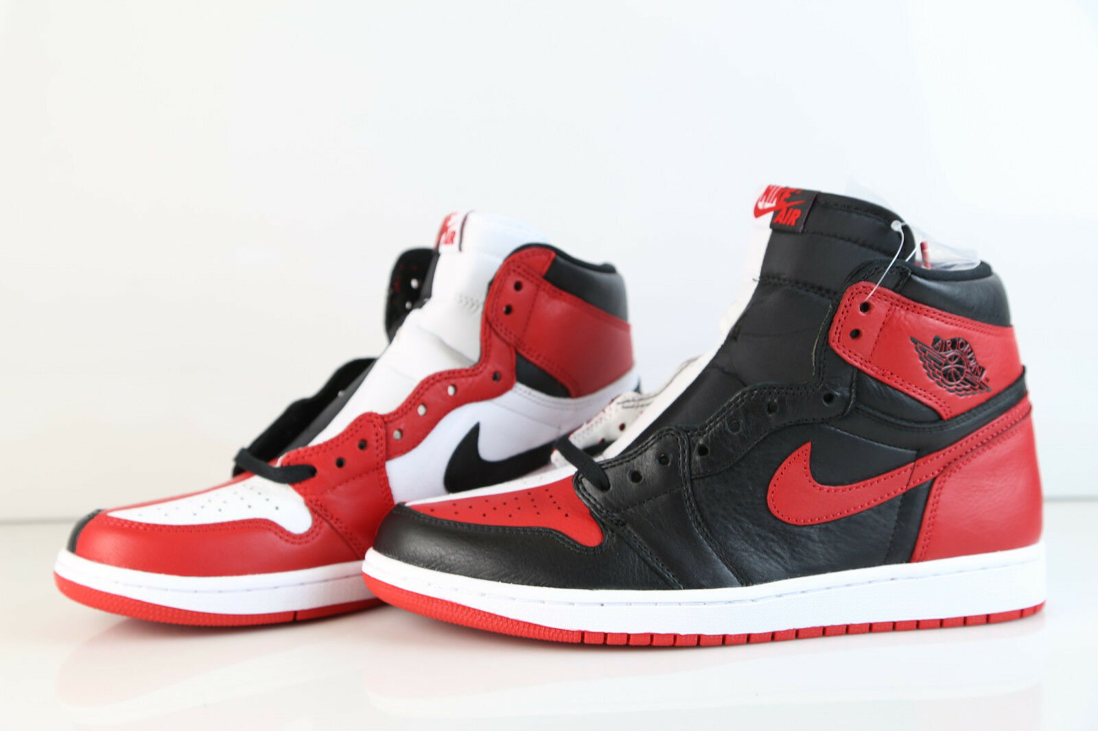 the latest ddc03 e9f39 Air Jordan Retro 1 High OG NRG Homage to Home Bred Chicago 861428-061 7-13  aj1 1 of 7Only 5 available ...