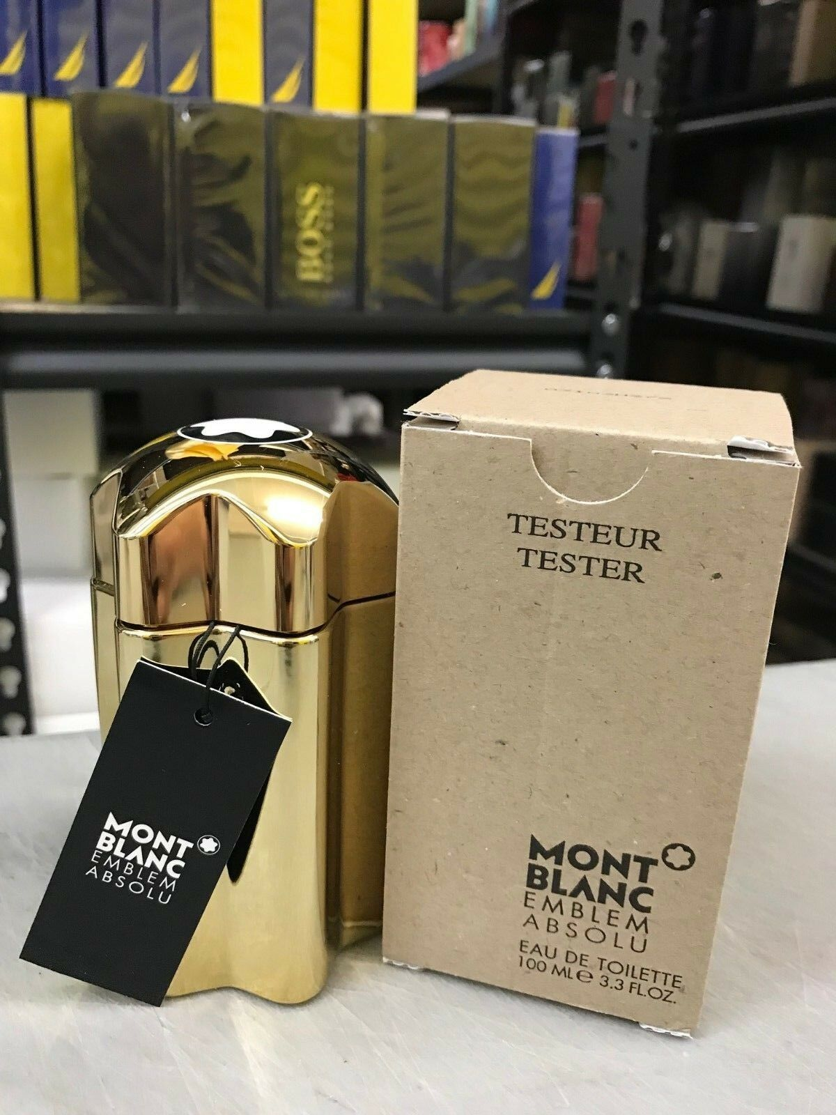 T Mont Blanc Emblem Absolu EDT For Men 3.4oz / 100ml New In Box 1 of 2FREE Shipping See More