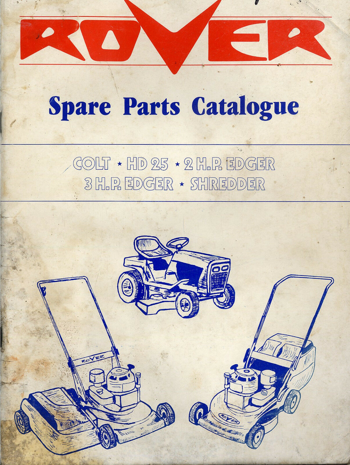 Rover Mower Spare Parts Catalogue 1500 Picclick Au Bolens G174 Wiring Diagram 1 Of 1only Available