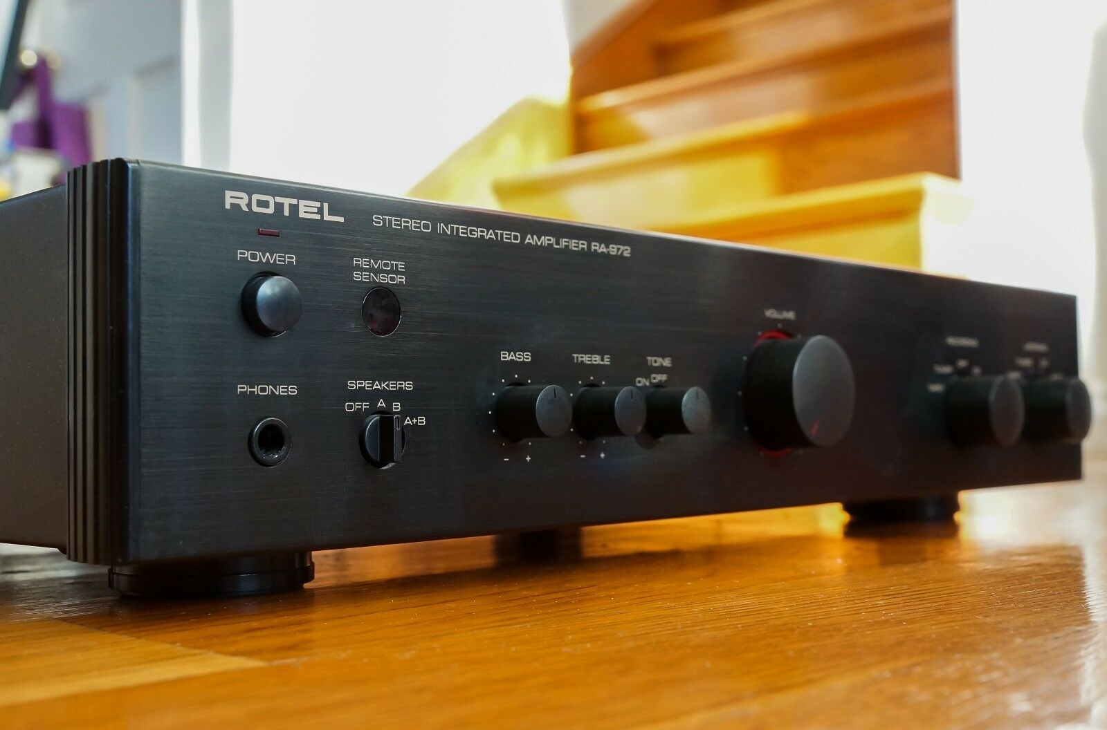 Rotel Ra 972 Integrated Amplifier Mint Or Excellent Condition 1520 1 Of 9 See More