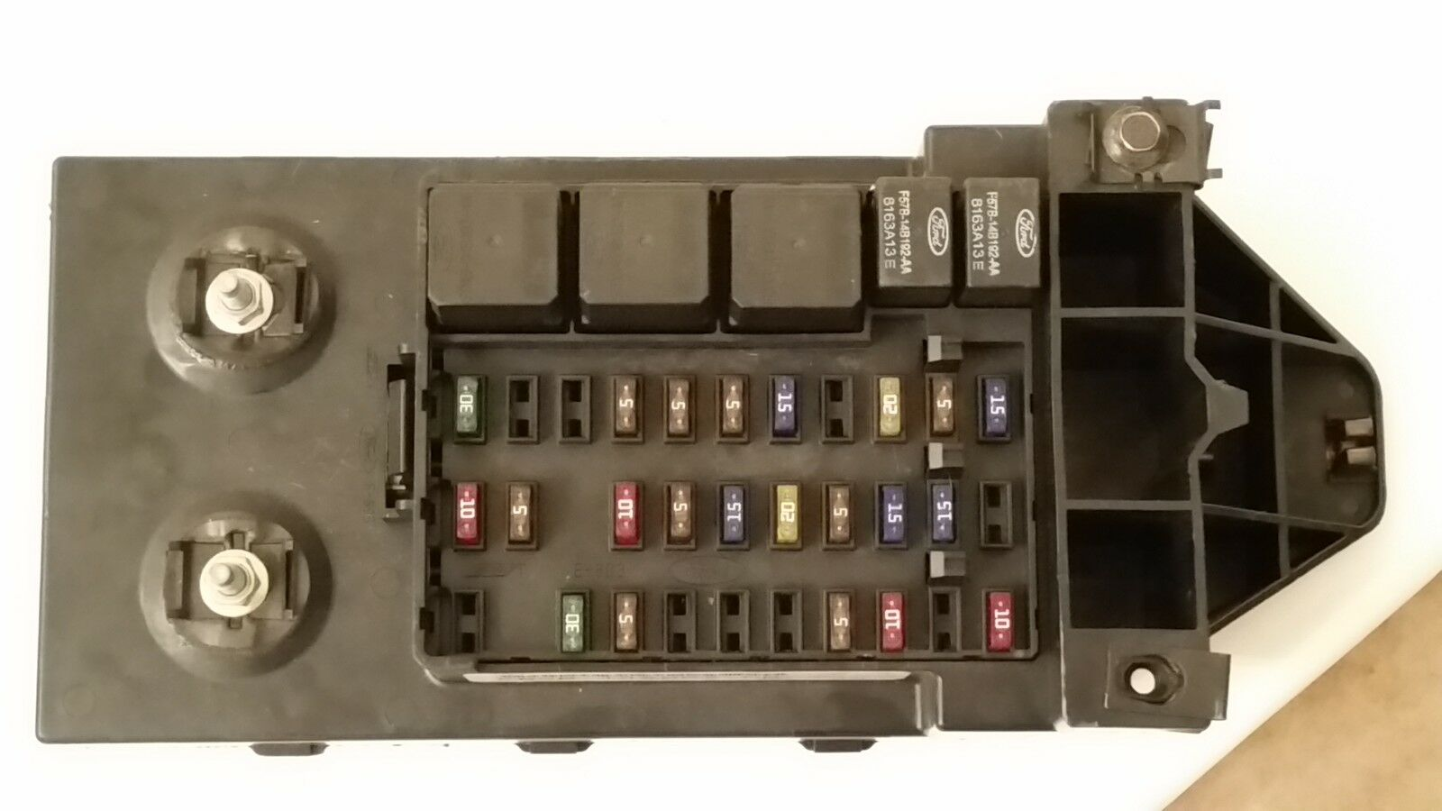 2000 Ford Excursion F250 F350 Super Duty Fuse Box Relay Panel Yc3t Diagram 14a067 Cb 1 Of 1free Shipping