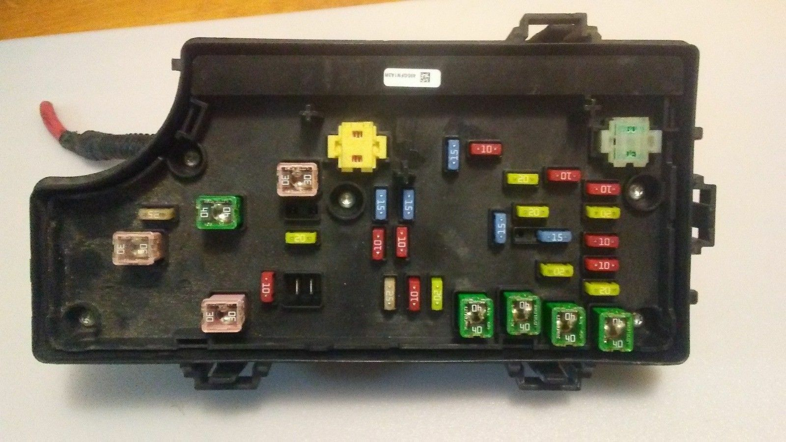 2007 2010 Chrysler Sebring Tipm Totally Integrated Power Fuse Box 01 P04692168al 1 Of 2only 2 Available