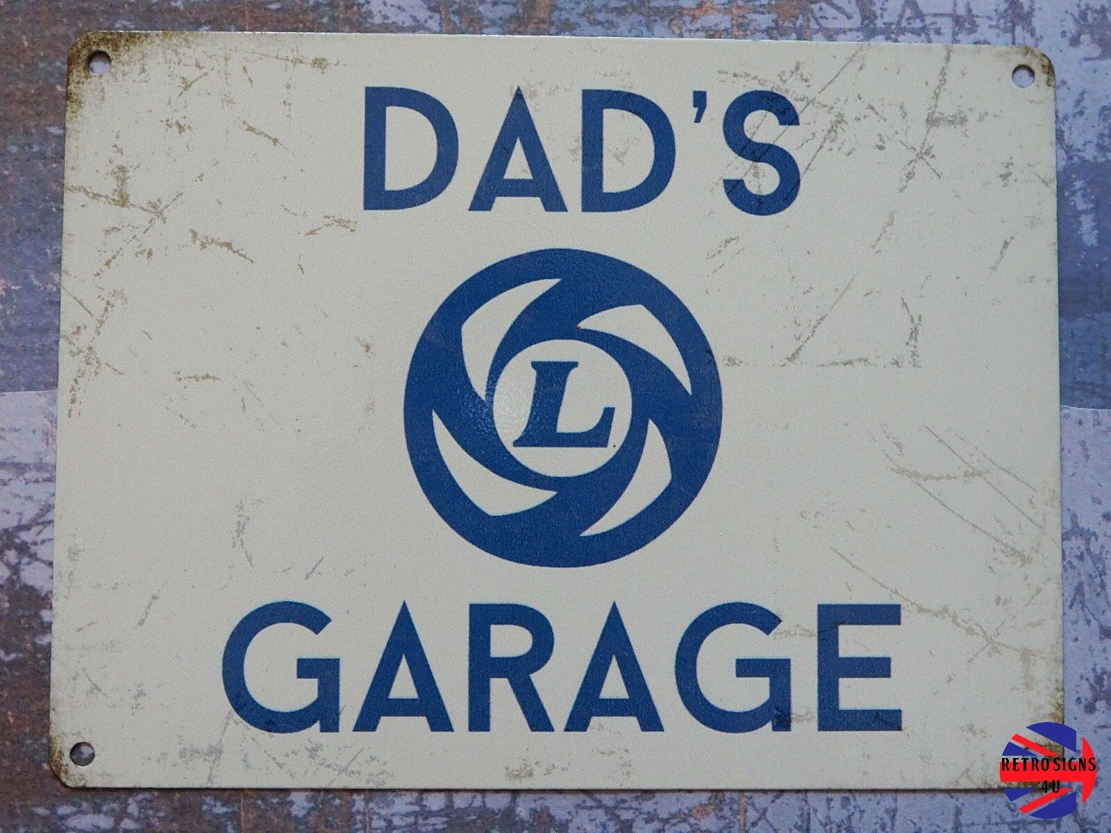 British Leyland Radio Wiring Dads Garagetin Sign Bmc Austin Mg Jaguar Morris 1 Of 1only 3 Available