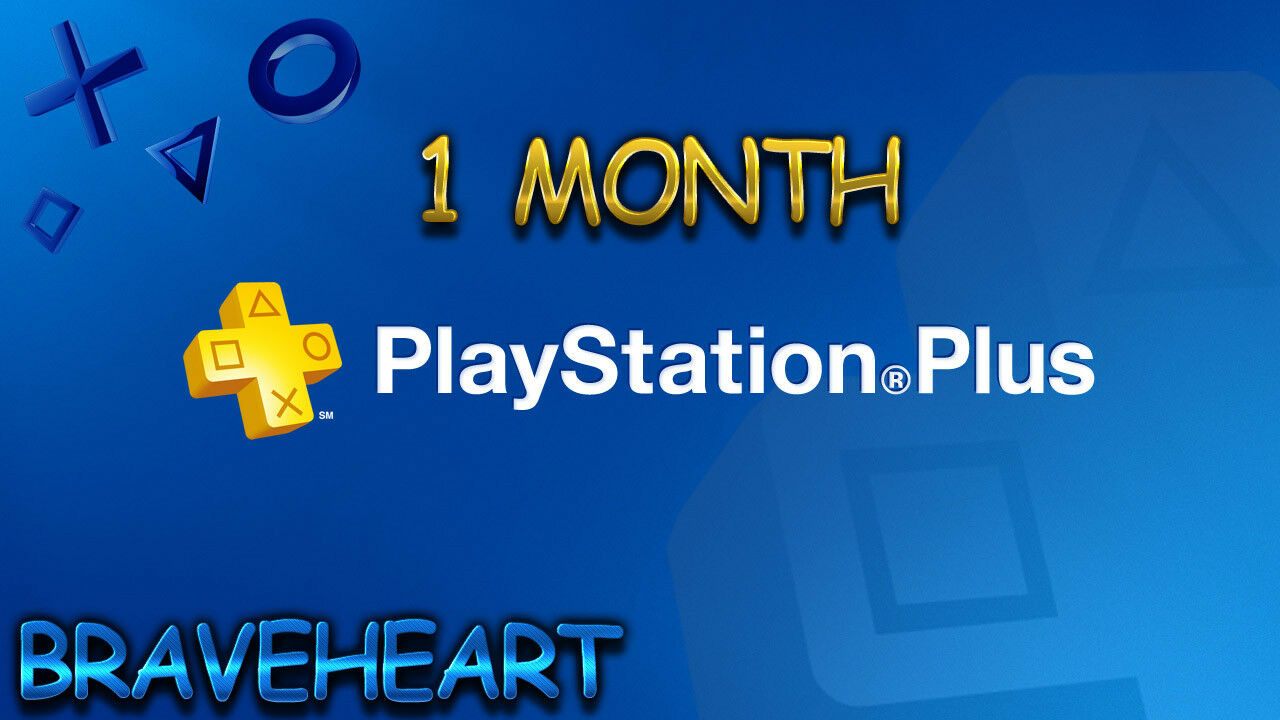 PSN PLUS 1 Month(2x14) DAY TRIAL - PS4 - PS3 - PS Vita - PLAYSTATION  NO CODE • $1 33
