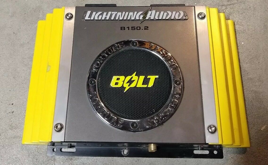 Lightning Audio Bolt Amp B1502 6000 Picclick Lanzar Dct252 3000w 2 Channel Amplifier With 4 Ga Wiring Kit 1 Of 4only Available