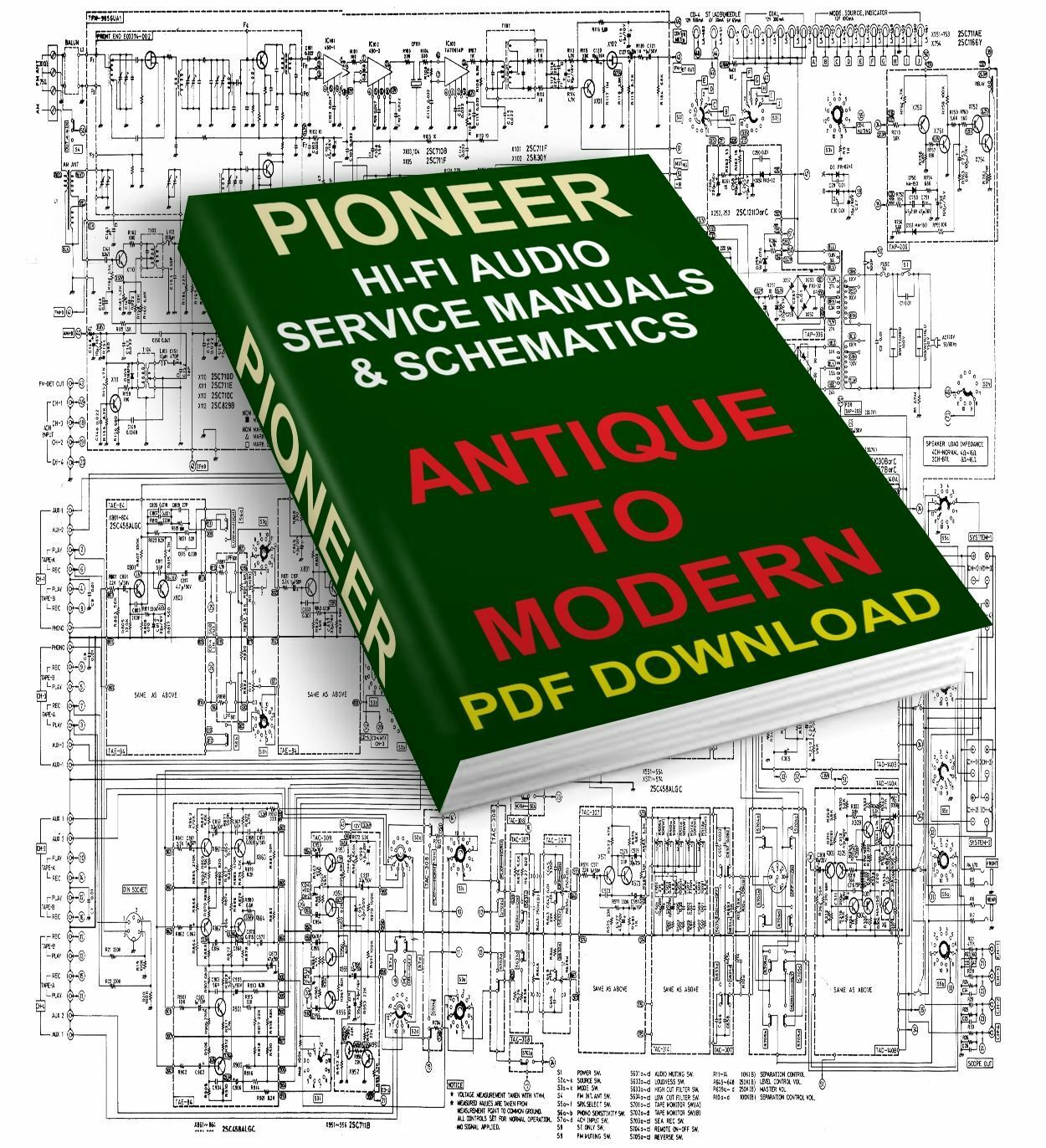 Pioneer Service Manuals Schematics Antique To Modern Download Deh Wiring Harness P520 1 Of 1free Shipping