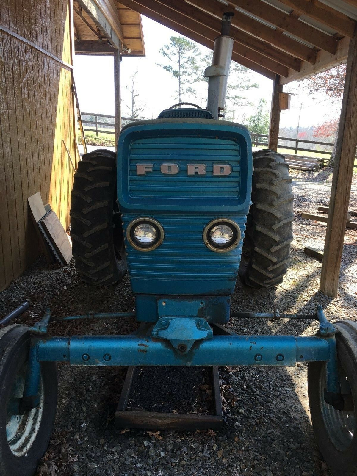 FORD COMMANDER 6000 tractor 1 of 4 See More