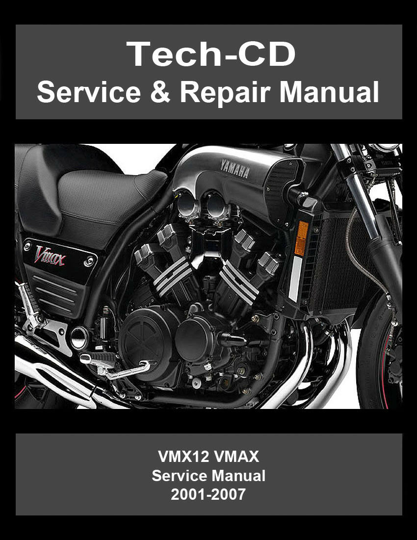 Yamaha VMAX Service Repair Manual VMX12 V-MAX 2001 2002 2003 2004 2005 2006  2007 1 of 3FREE Shipping ...