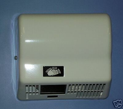 NEW GX1M Automatic Restroom Hand Dryer 120V Metal White