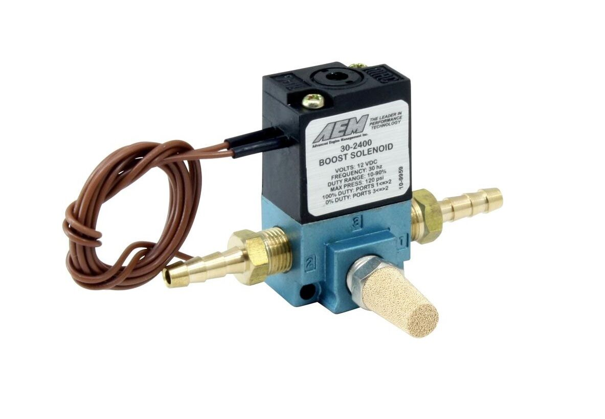 Aem Turbo Boost Control Solenoid Bcs Kit 30 2400 10472 Picclick Driver Circuit At The Wastegate Connector And 1 Of 3only 3 Available