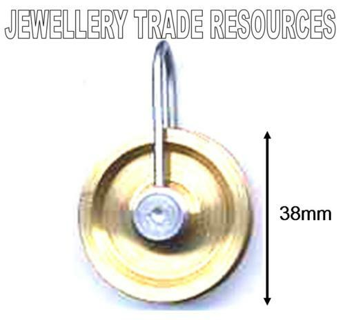 NEW REPLACEMENT BRASS CLOCK CHAIN PULLEY PULLY 38mm