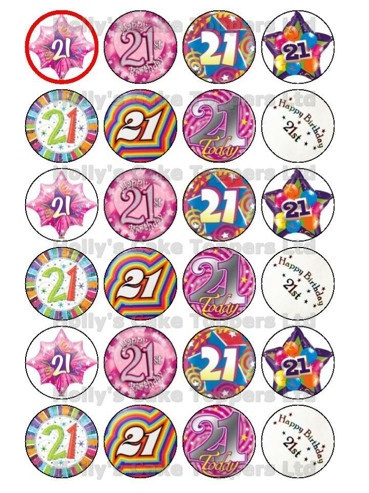 Rice Paper Cake Toppers Australia