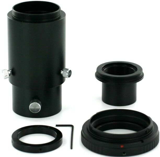 Canon EOS - Deluxe Telescope Camera Adapter Kit - Variable Eyepiece Projection