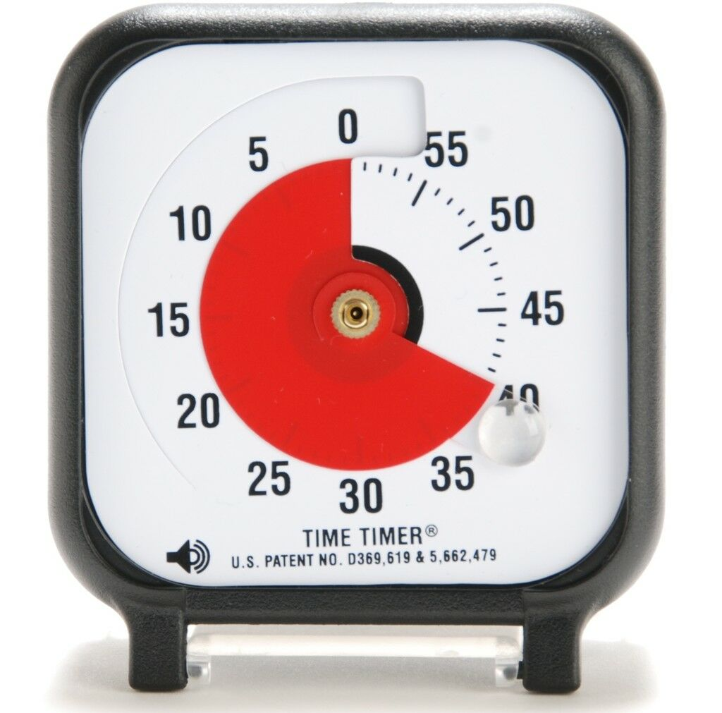 """TIME TIMER Small 3"""" Inch Visual Autism ADHD Aspergers"""