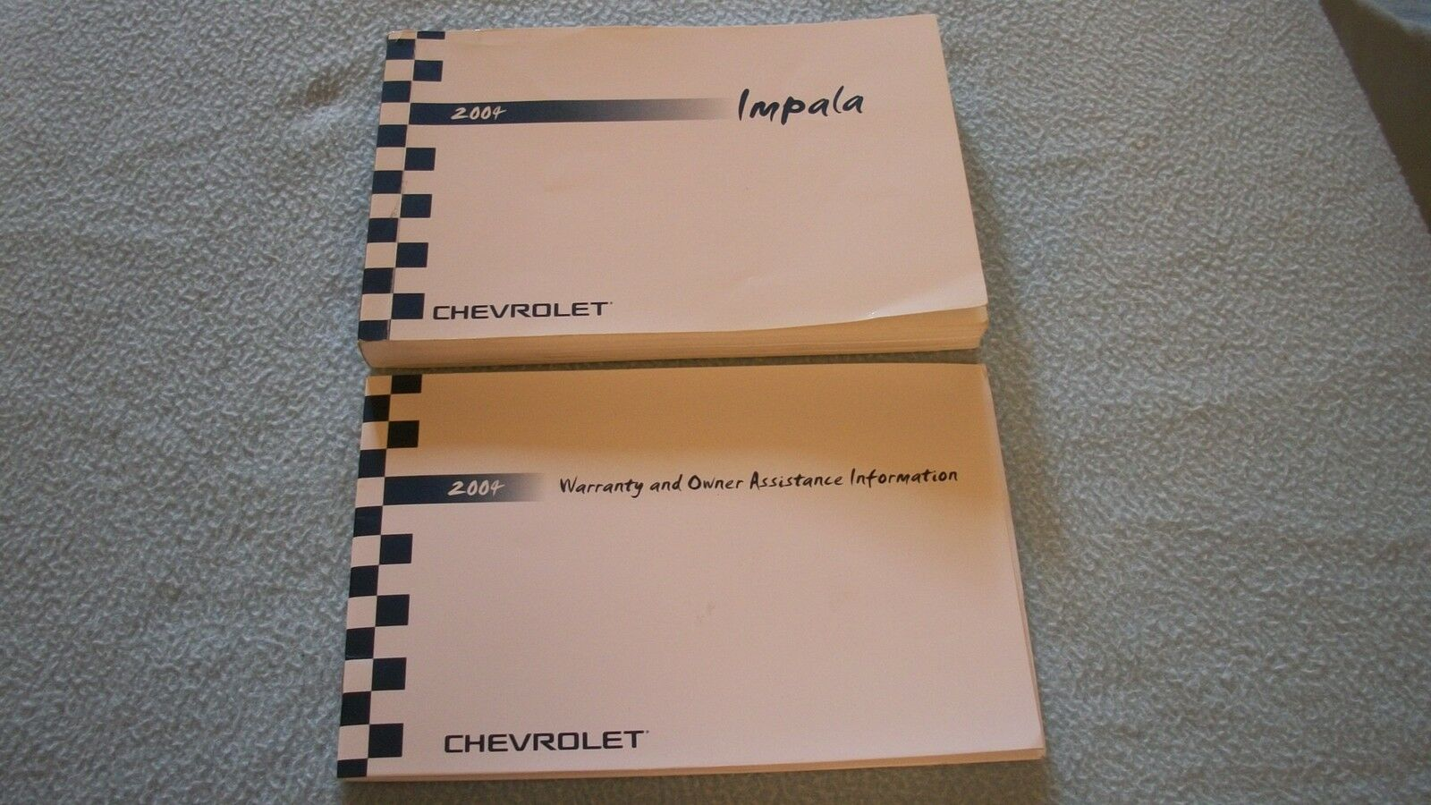 2004 Chevrolet Impala Owners Manual with binder 1 of 1Only 1 available ...