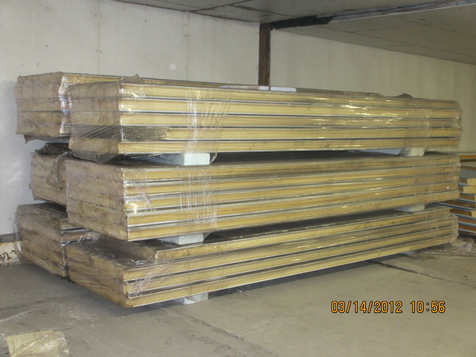 Used Freezer Insulated Panels : Quality used quot insulated cooler freezer panels