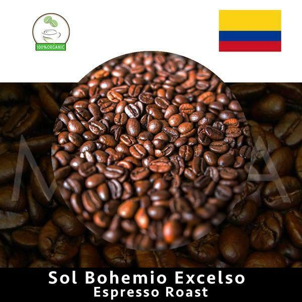COLOMBIA Speciality Rainforest Espresso Coffee Bean 1Kg