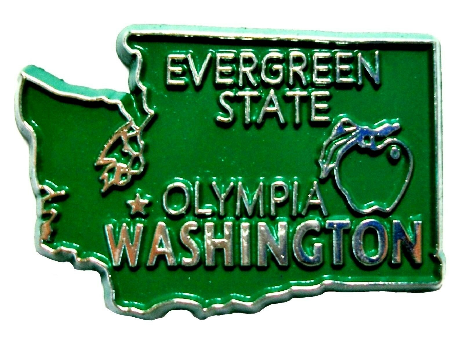Evergreen (AL) United States  city pictures gallery : Washington The Evergreen State United States Fridge Magnet
