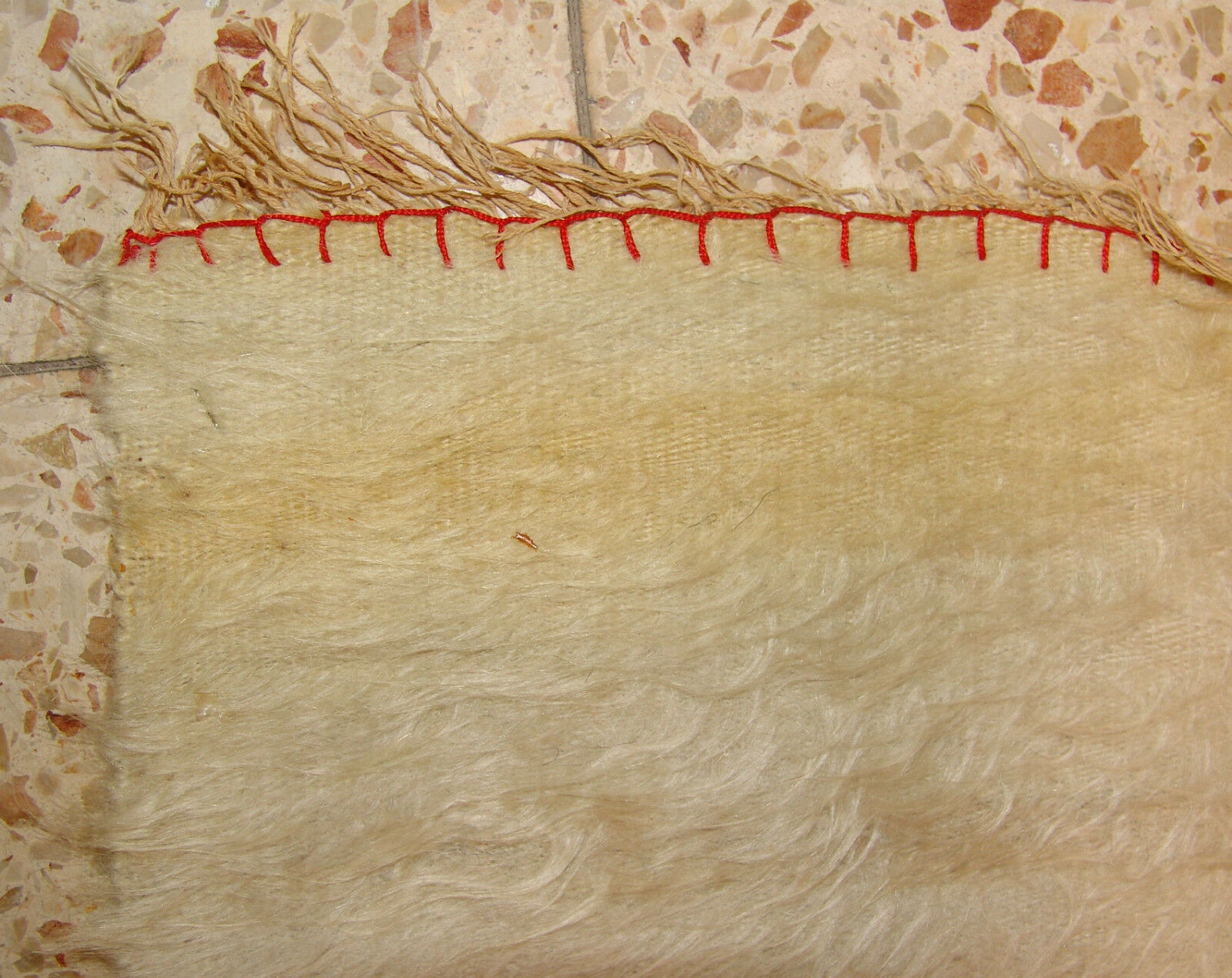 Islamic Antique blanket fabric embroidery ? rug ? suzani ? unknown middle east