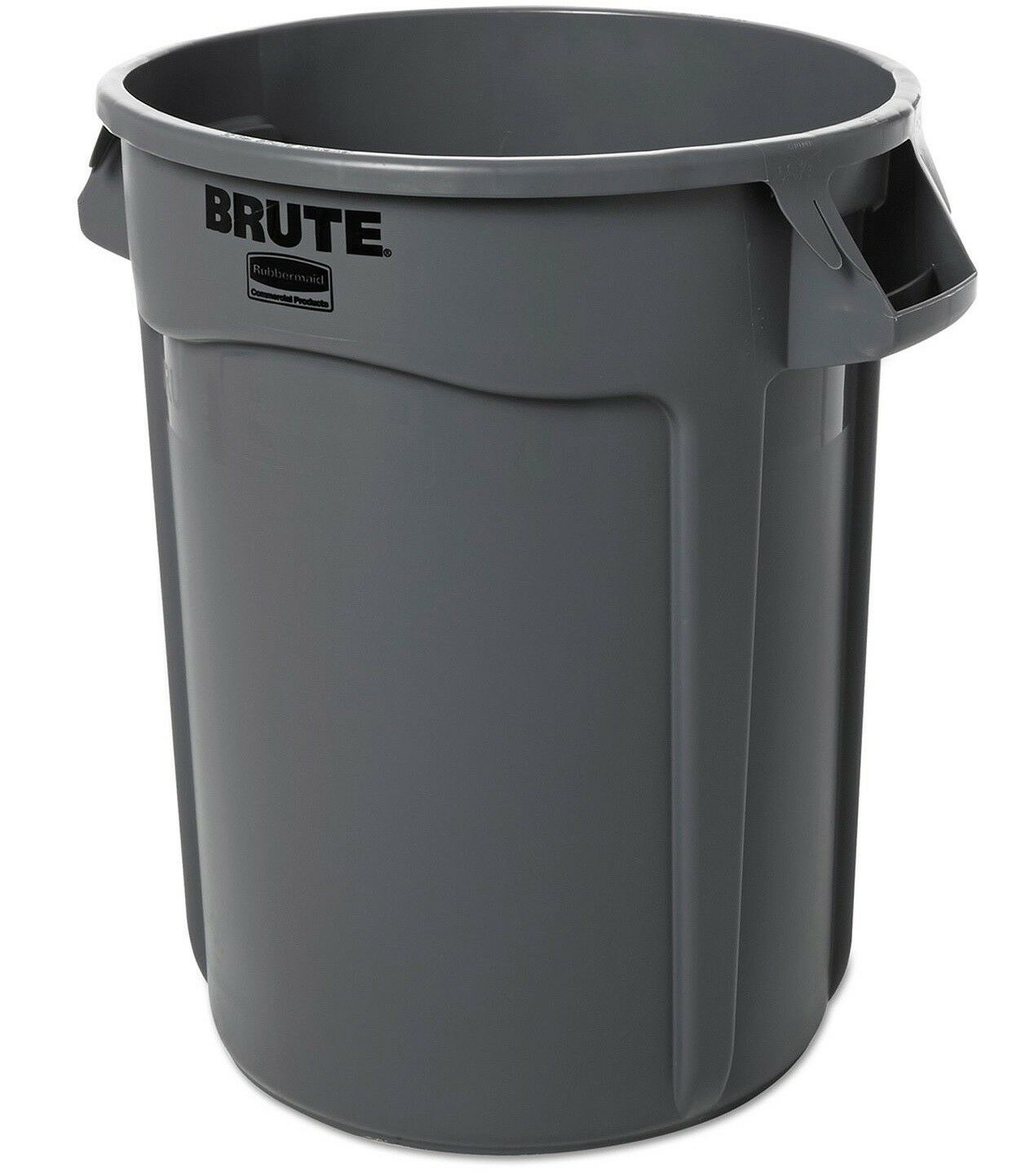 gray rubbermaid industrial commercial brute trash can garbage bin various sizes 1 of 2only 3 available - Industrial Trash Cans