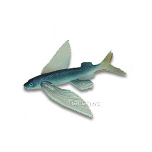 aaa 13831 flying fish sealife toy model
