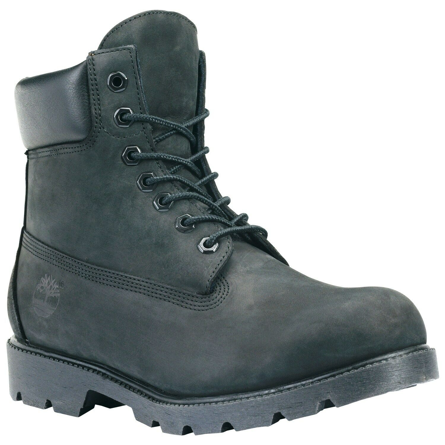 timberland mens icon 6 inch work boots style 19039 black