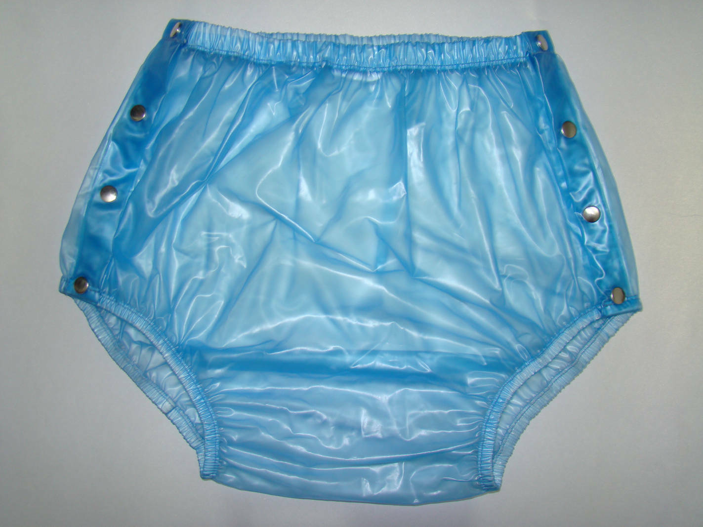 Adult Baby Snap Plastic Pants Incontinence New