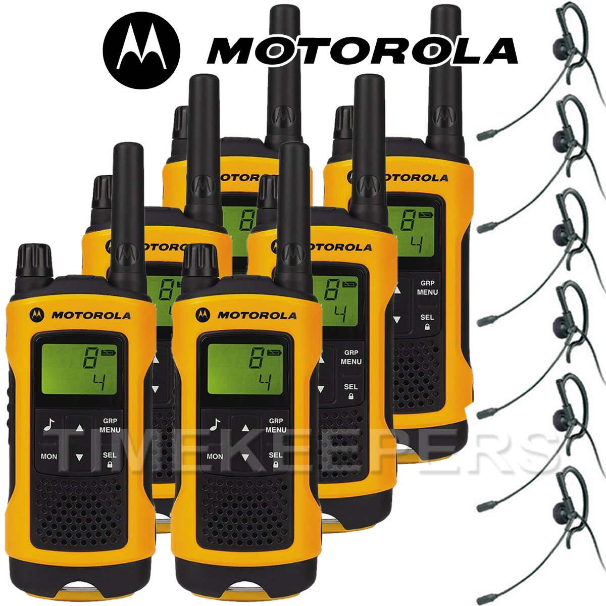 10km motorola tlkr t80 extreme ipx4 rugged all weather two way radios six pack. Black Bedroom Furniture Sets. Home Design Ideas