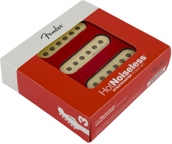 Fender Hot Noiseless Strat Pickup Set Replacement Stratocaster Jeff Beck Wiring Diagram New