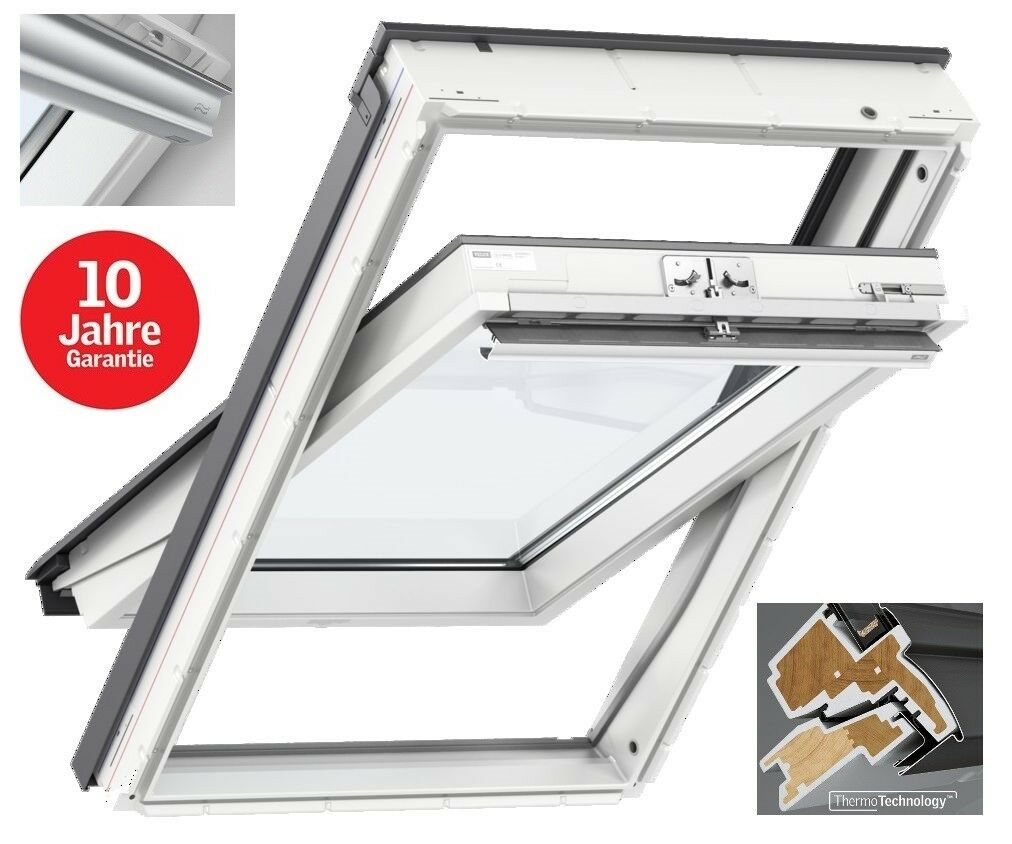 dachfenster kunststoff velux ggu glu thermo fakro skylight rooflite eindeckr eur 193 00. Black Bedroom Furniture Sets. Home Design Ideas