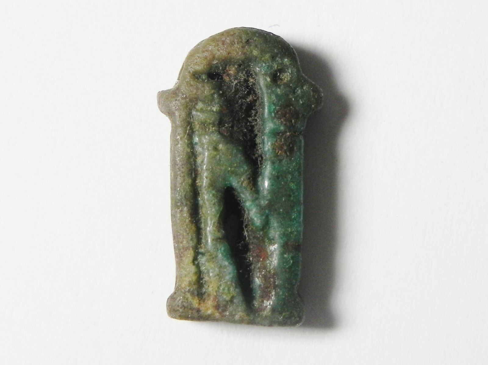 Zurqieh - Sc739- Ancient Egypt , Imsety The Emblem Of The West Faience Amulet
